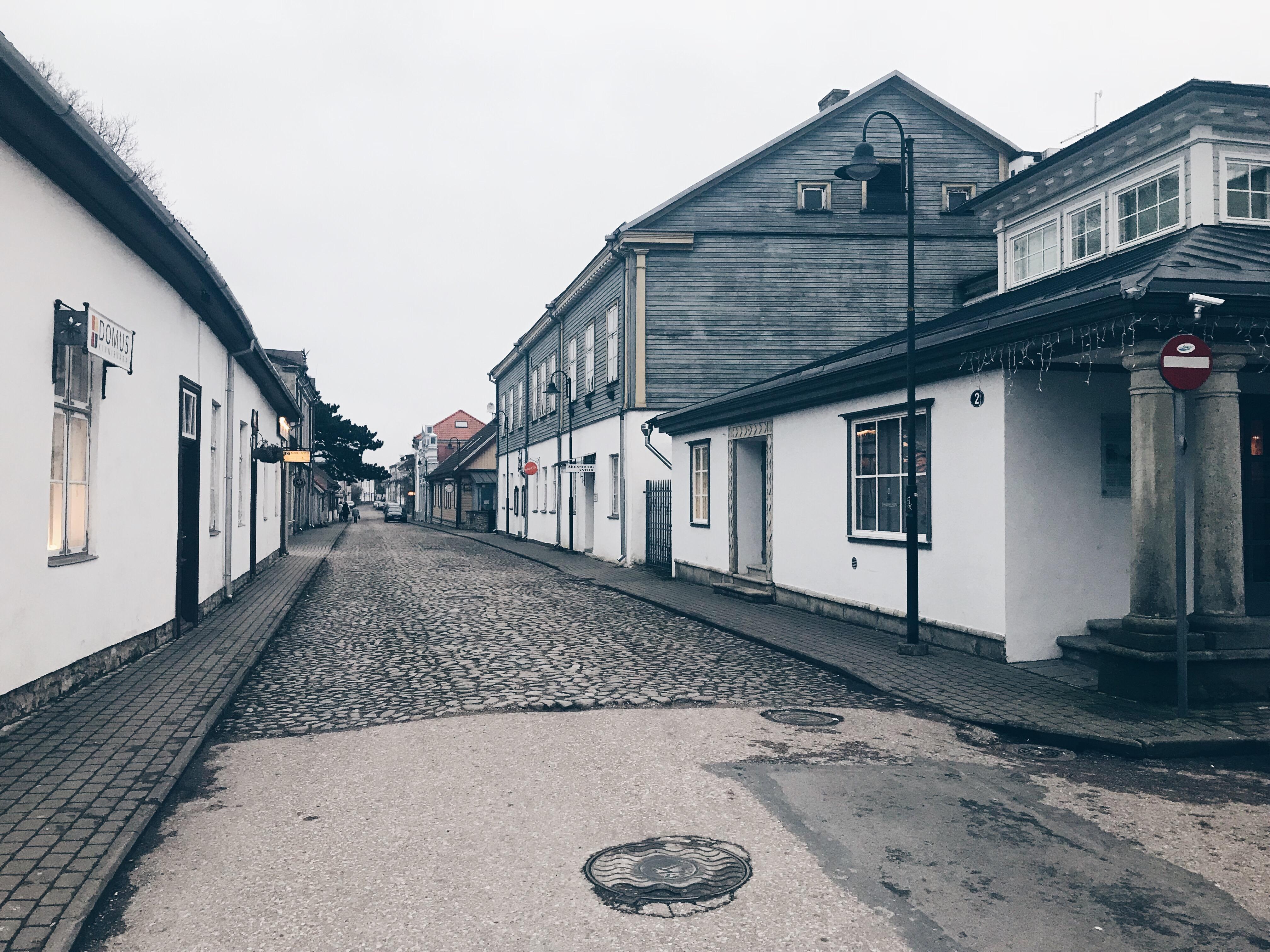 Streets of Kuressaare